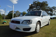 Subaru Liberty GX all wheel drive,  2001